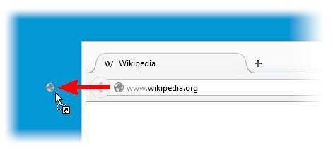为网页链接创建桌面快捷方式