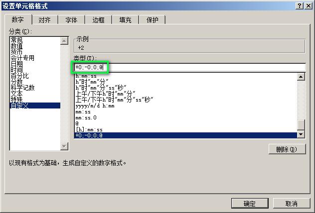 让 Excel 显示 + 号