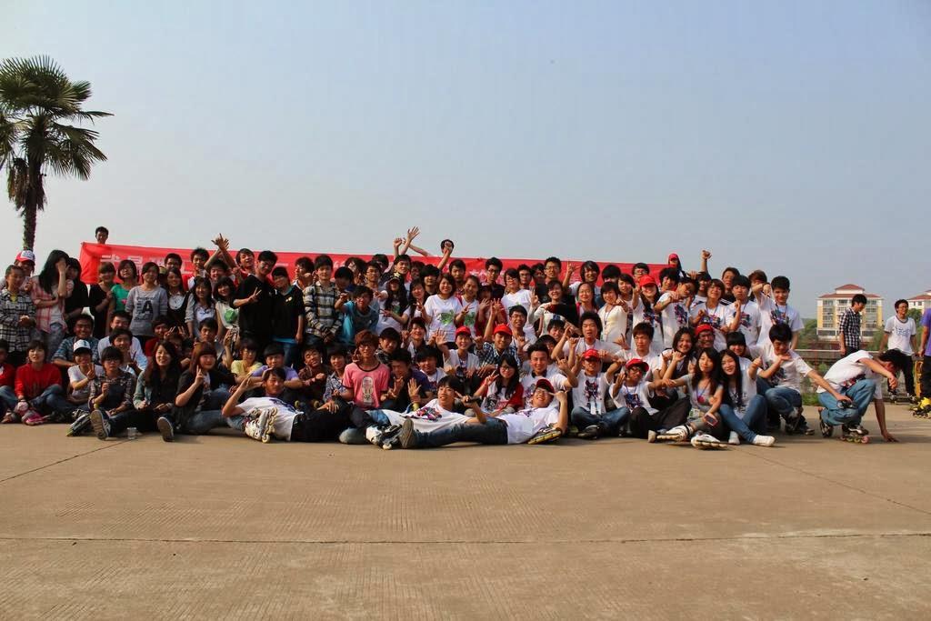 活动合影_2012